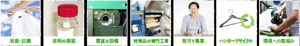 消臭・抗菌溶剤の蒸留豊富な設備専門分野に強い環境への取組み